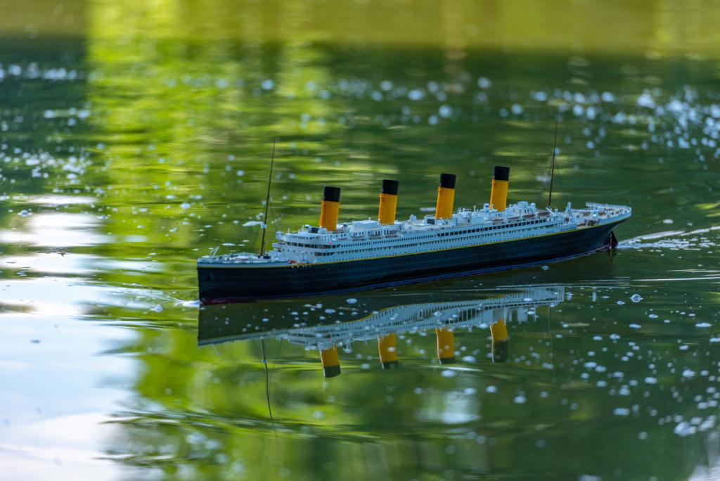 RMS Titanic / Trumpeter, 1:200 - als RC Version - Seite 5 Dsc62810