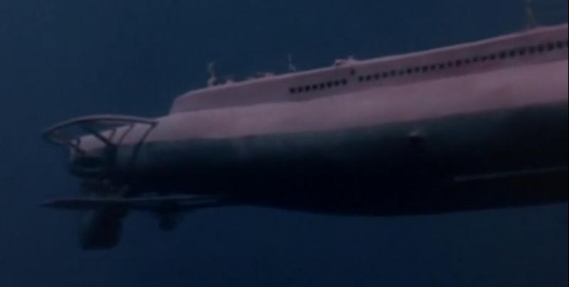 Die USS SEA TIGER aus dem Film UNTERNEHMEN Petticoat von 1959 F148t210