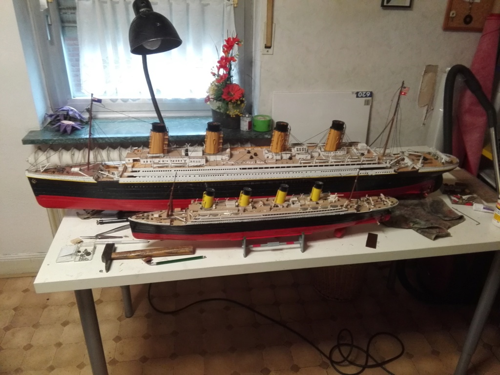 RMS Titanic von Krick im Maßstab 1/200 von November 2018 Img_2377