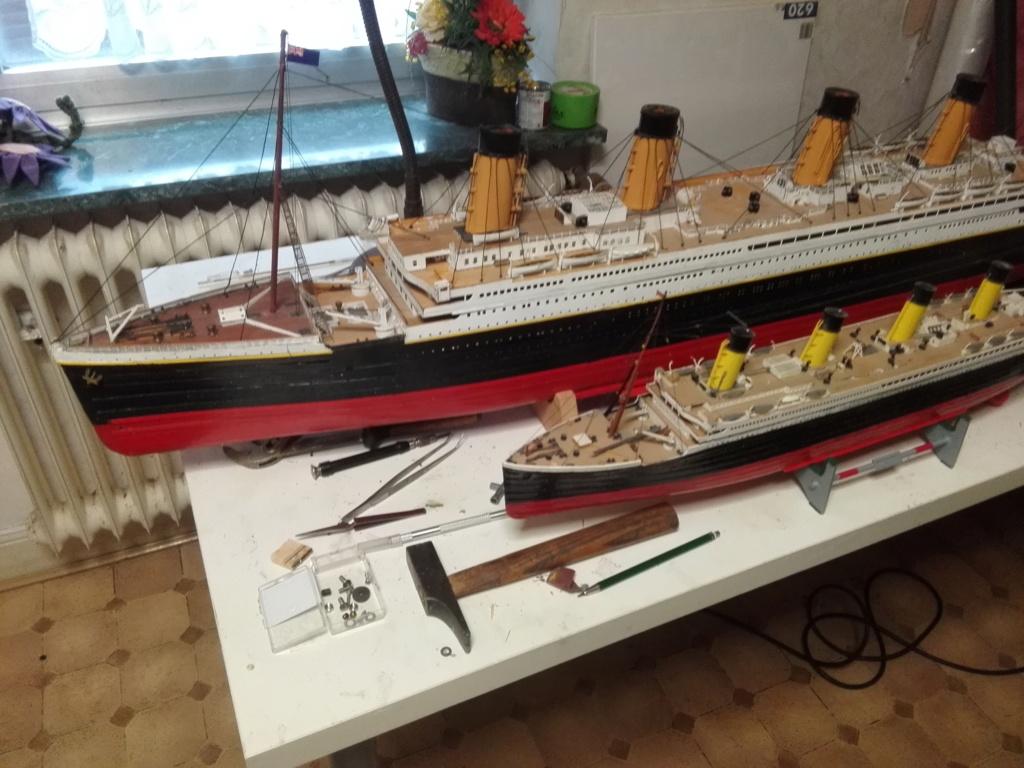 RMS Titanic von Krick im Maßstab 1/200 von November 2018 Img_2378