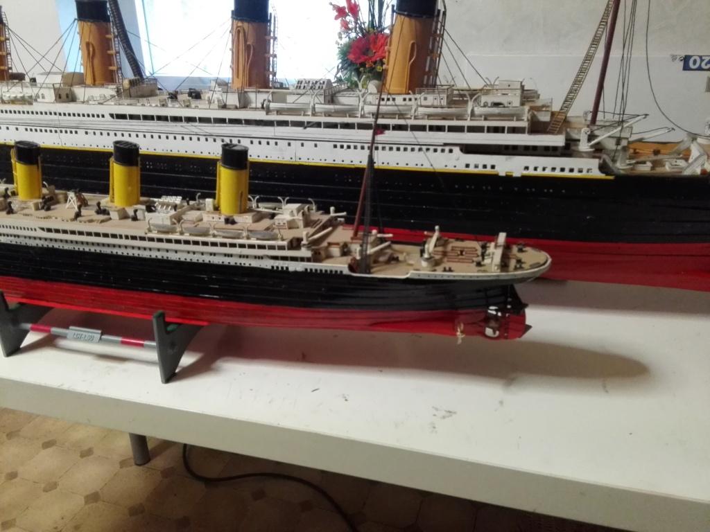 RMS Titanic von Krick im Maßstab 1/200 von November 2018 Img_2379