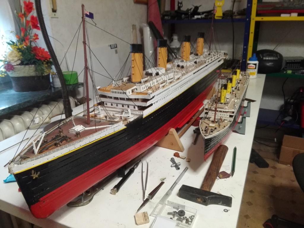 RMS Titanic von Krick im Maßstab 1/200 von November 2018 Img_2380