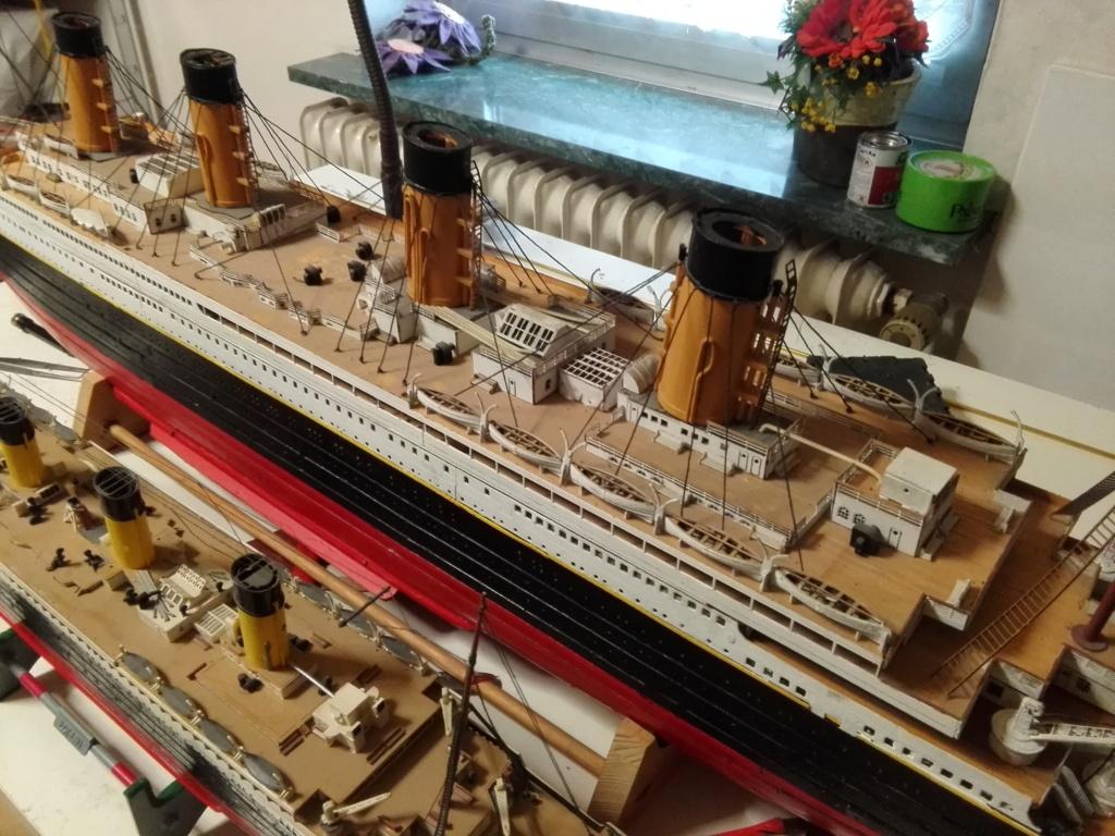 RMS Titanic von Krick im Maßstab 1/200 von November 2018 Img_2381