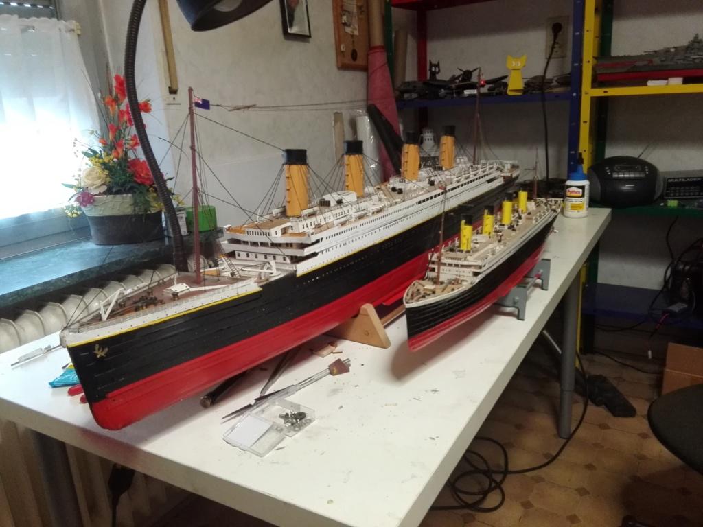 RMS Titanic von Krick im Maßstab 1/200 von November 2018 Img_2383
