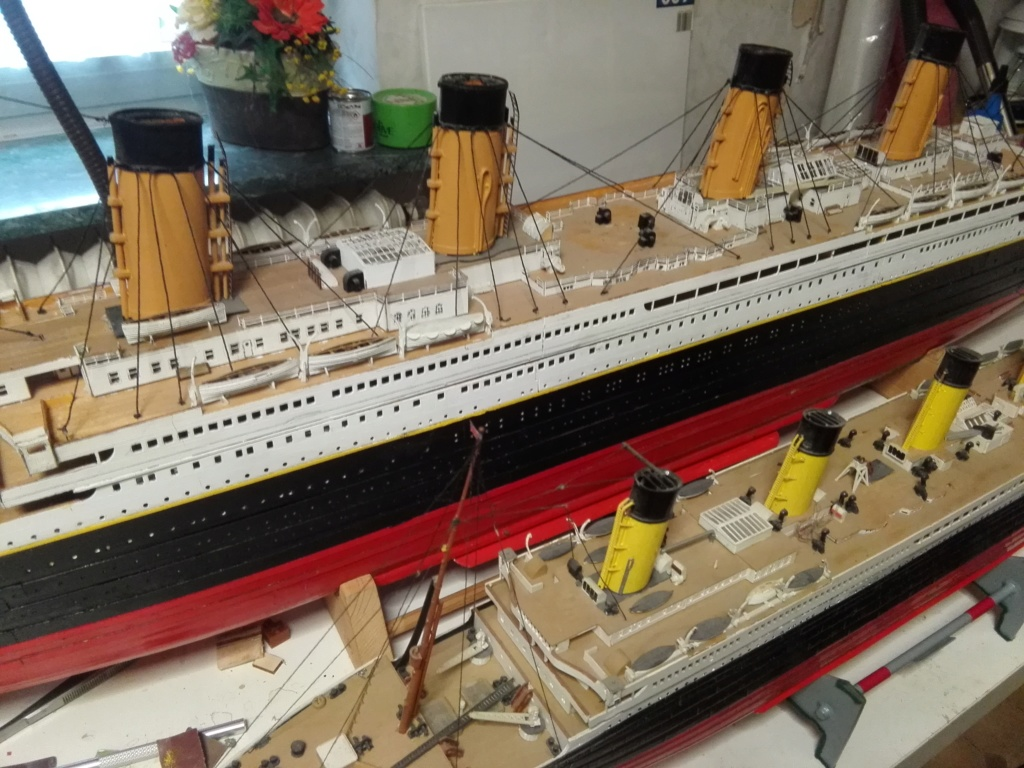 RMS Titanic von Krick im Maßstab 1/200 von November 2018 Img_2384