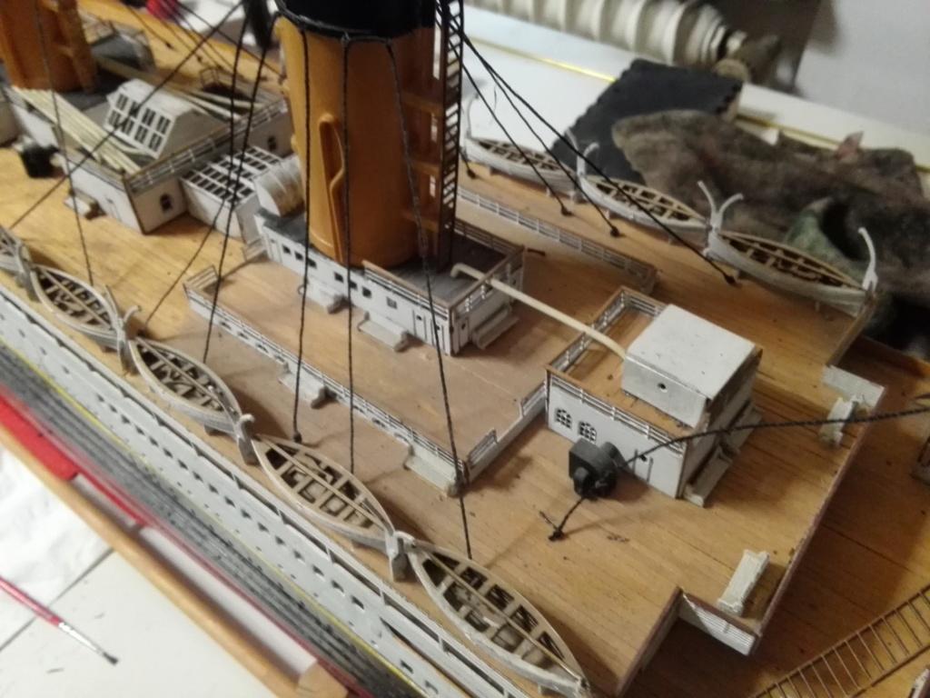 RMS Titanic von Krick im Maßstab 1/200 von November 2018 Img_2387