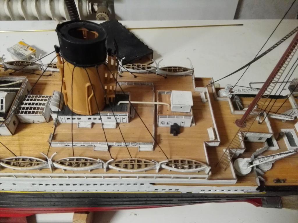 RMS Titanic von Krick im Maßstab 1/200 von November 2018 Img_2388