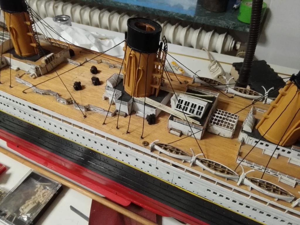 RMS Titanic von Krick im Maßstab 1/200 von November 2018 Img_2390