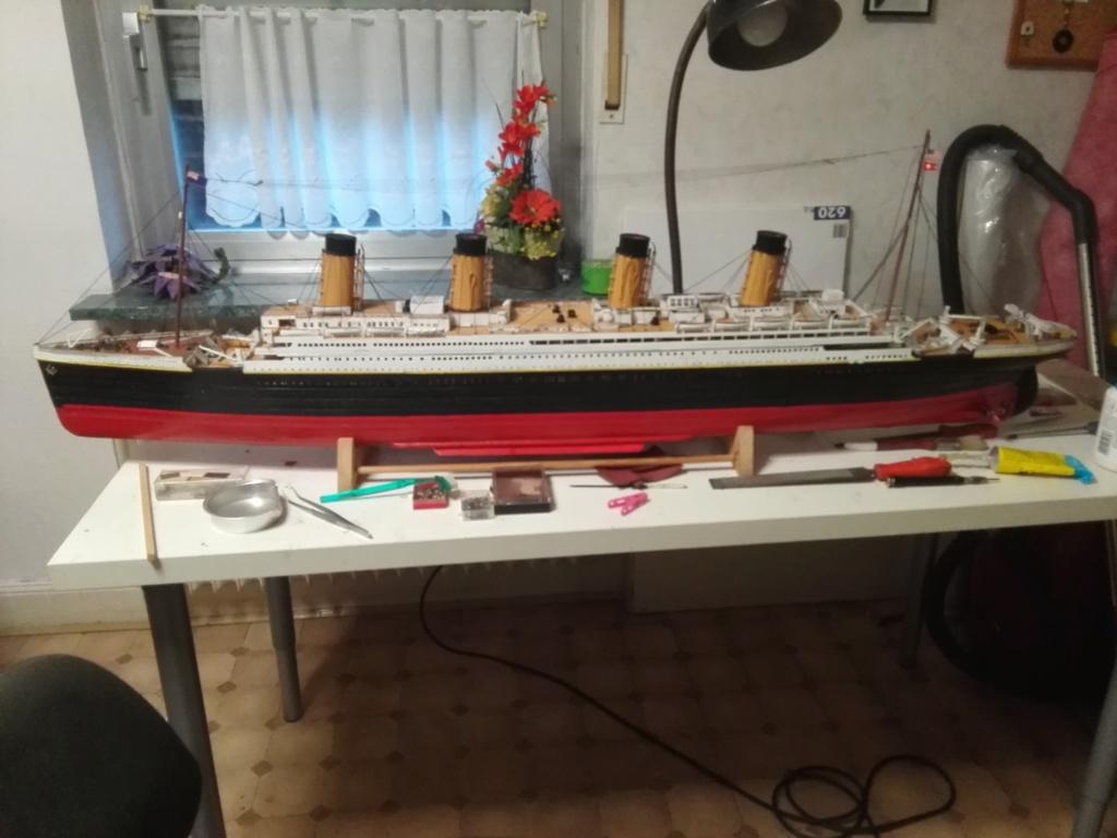 RMS Titanic von Krick im Maßstab 1/200 von November 2018 Img_2391