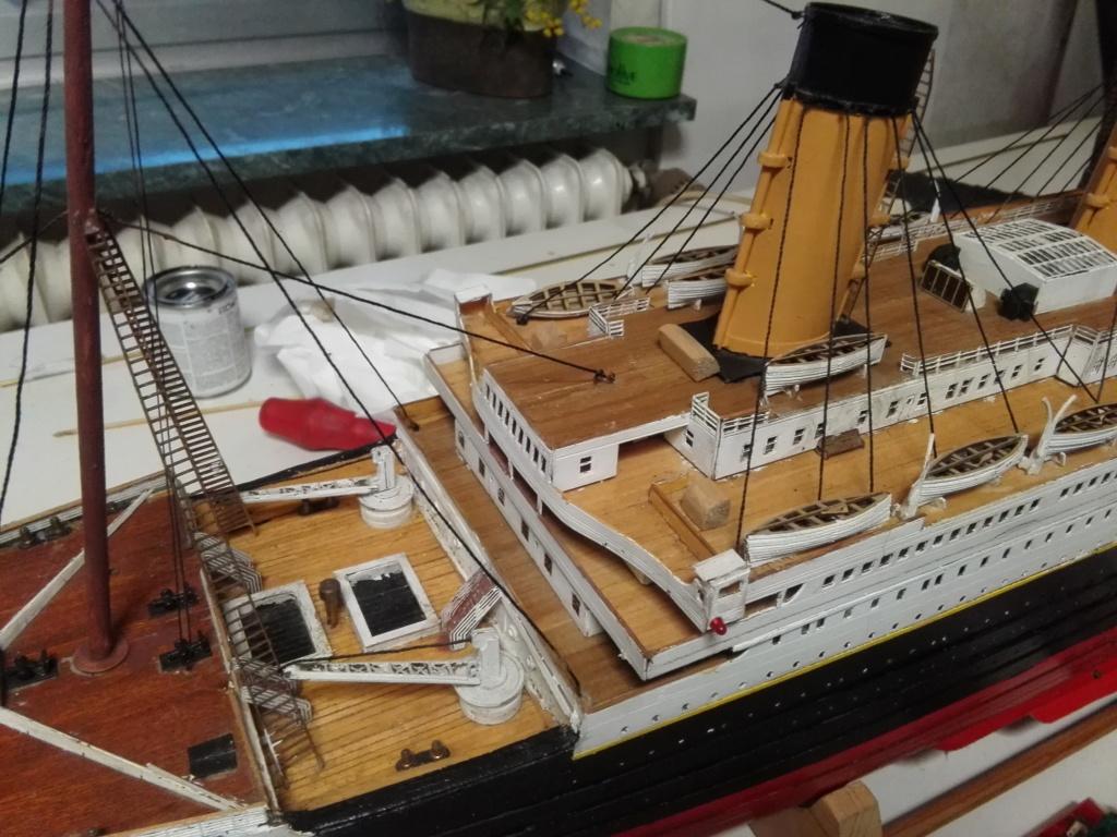 RMS Titanic von Krick im Maßstab 1/200 von November 2018 Img_2393