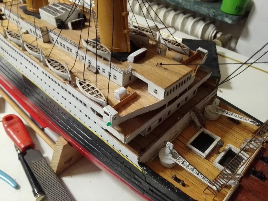 RMS Titanic von Krick im Maßstab 1/200 von November 2018 Img_2396