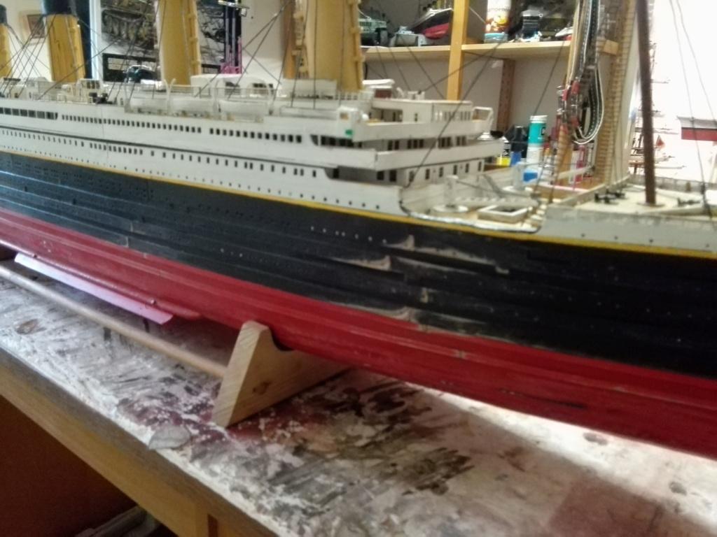RMS Titanic von Krick im Maßstab 1/200 von November 2018 Img_2397