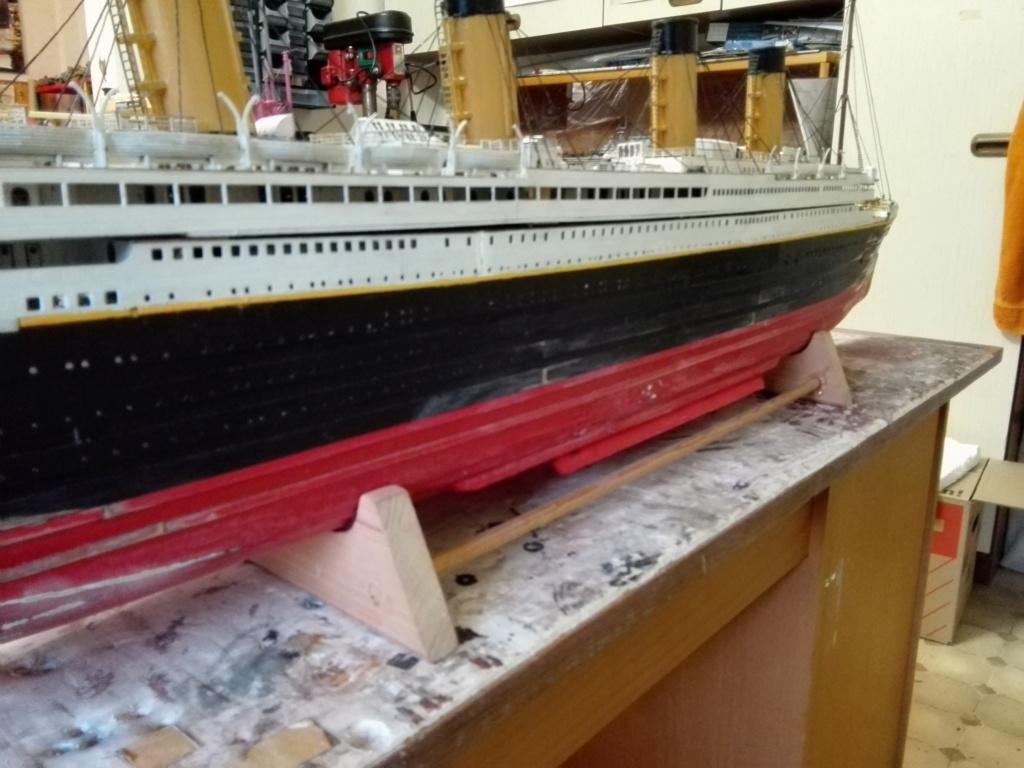 RMS Titanic von Krick im Maßstab 1/200 von November 2018 Img_2398