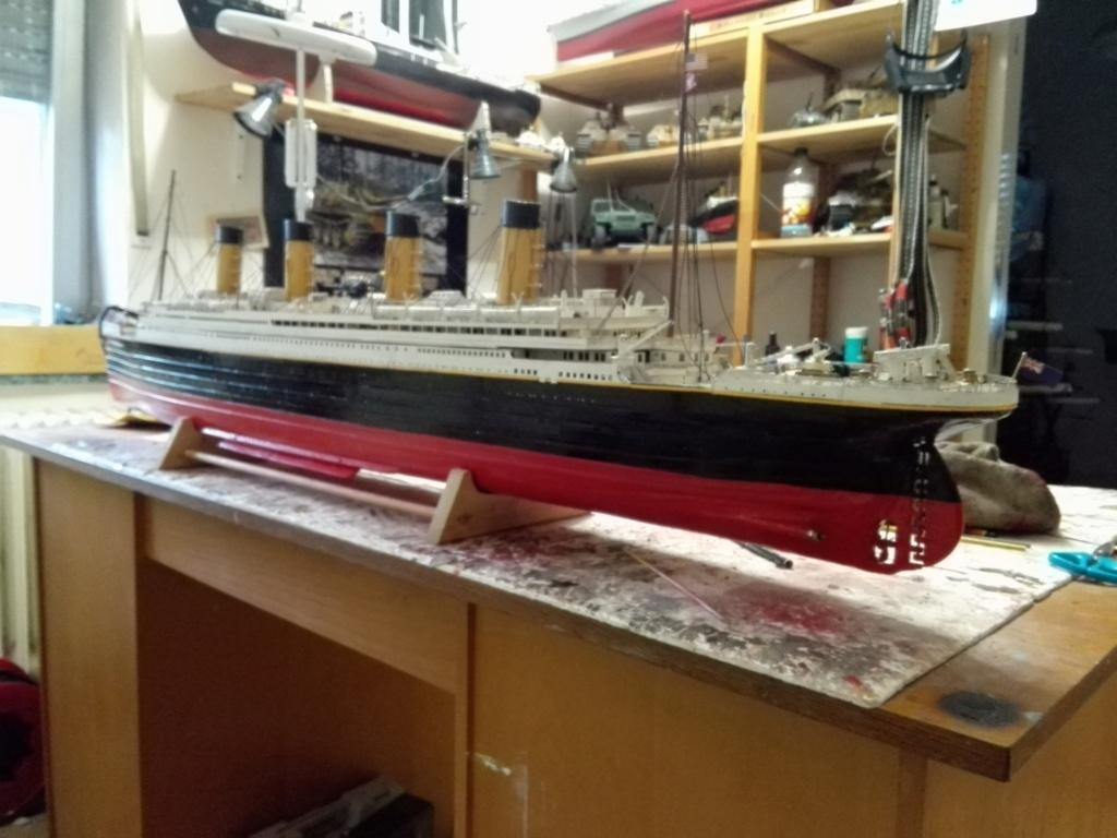 RMS Titanic von Krick im Maßstab 1/200 von November 2018 Img_2400