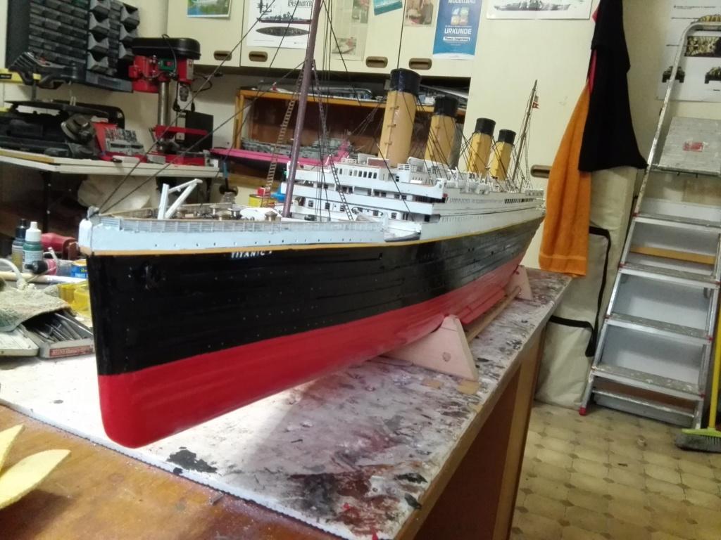 RMS Titanic von Krick im Maßstab 1/200 von November 2018 Img_2402