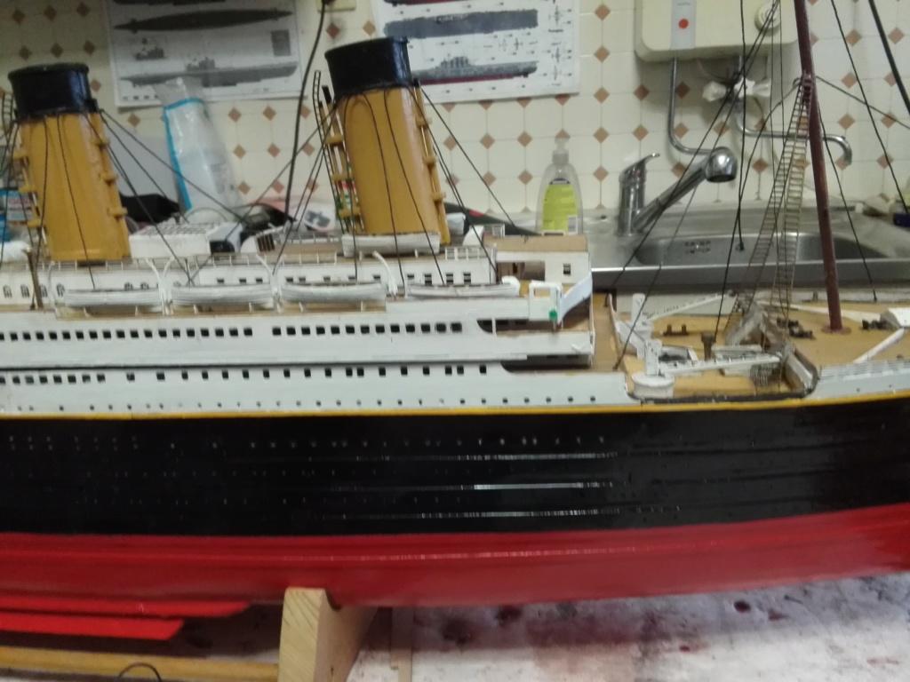 RMS Titanic von Krick im Maßstab 1/200 von November 2018 Img_2404