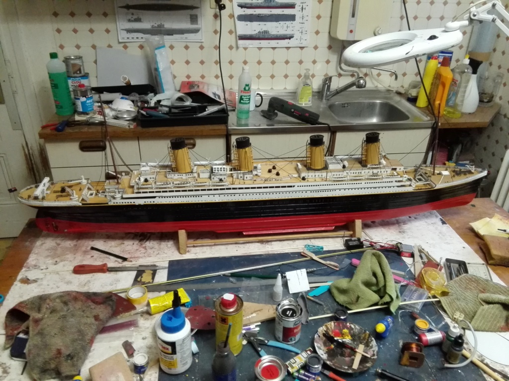 RMS Titanic von Krick im Maßstab 1/200 von November 2018 Img_2405