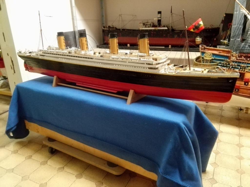RMS Titanic von Krick im Maßstab 1/200 von November 2018 Img_2406