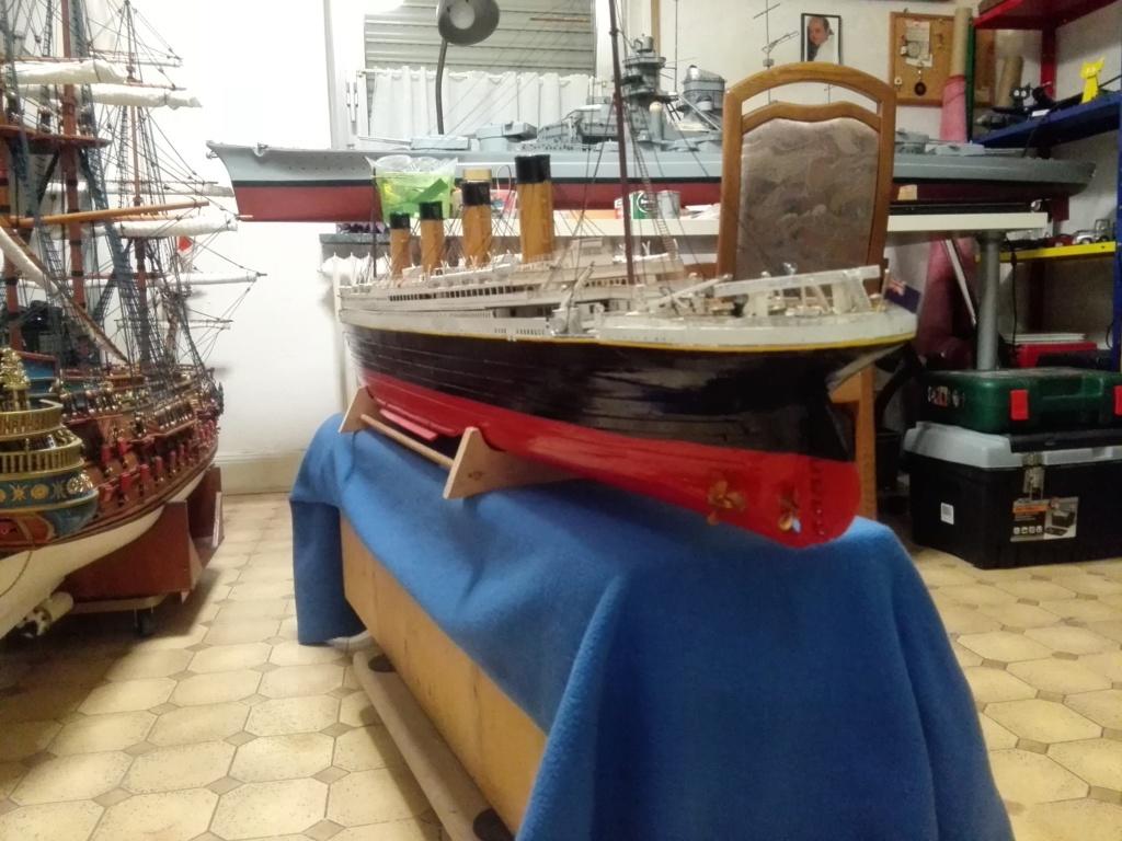 RMS Titanic von Krick im Maßstab 1/200 von November 2018 Img_2407