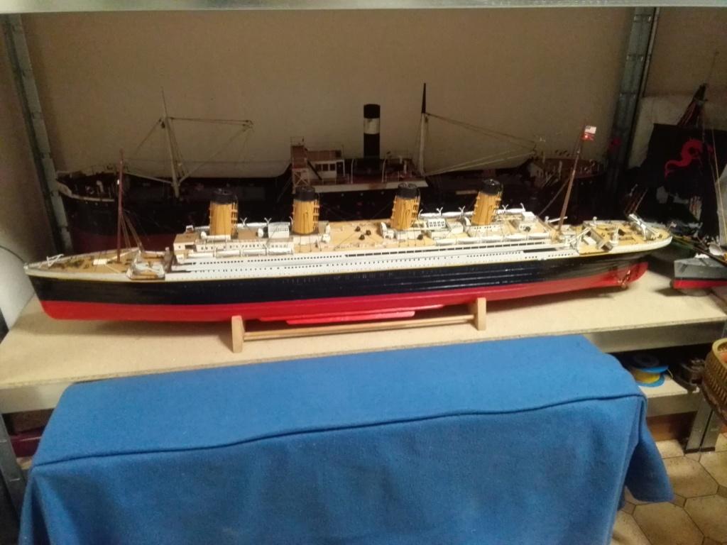 RMS Titanic von Krick im Maßstab 1/200 von November 2018 Img_2408