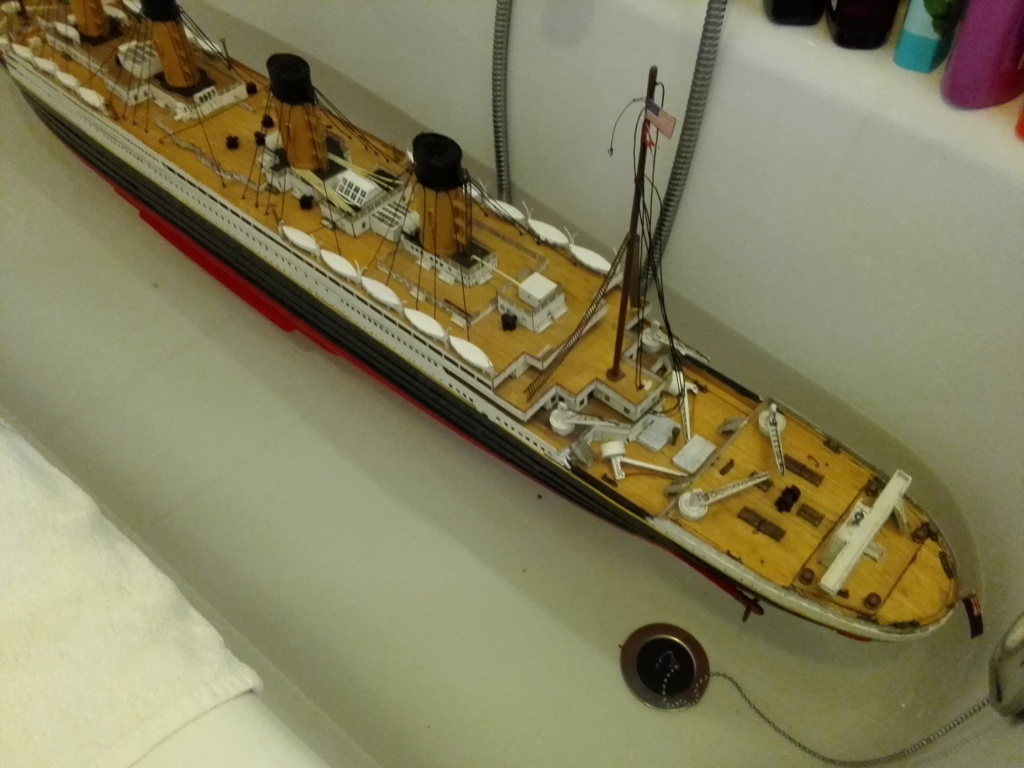 RMS Titanic von Krick im Maßstab 1/200 von November 2018 Img_2409
