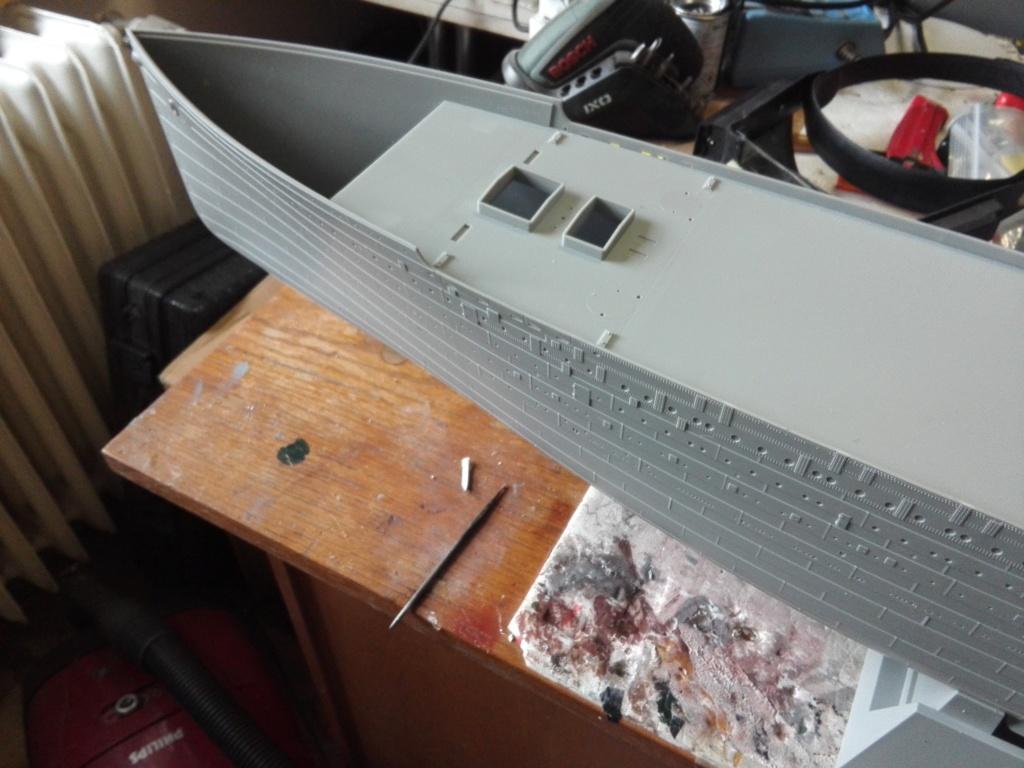 RMS Titanic / Trumpeter, 1:200 - als RC Version Img_2422