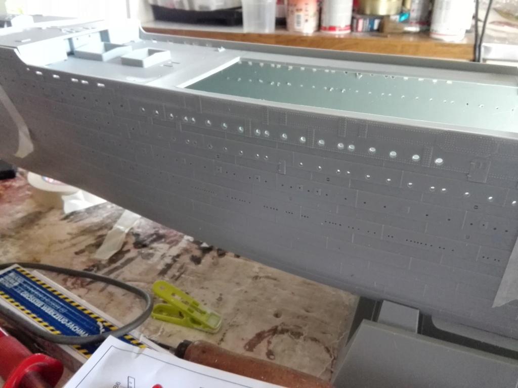 RMS Titanic / Trumpeter, 1:200 - als RC Version Img_2439