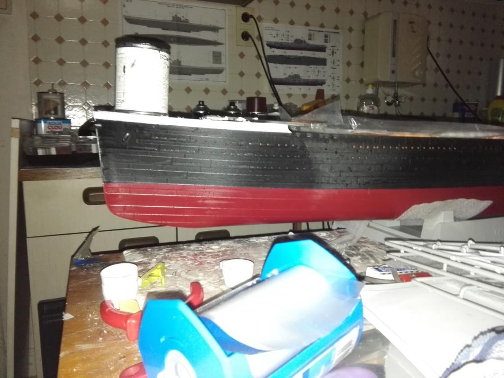 RMS Titanic / Trumpeter, 1:200 - als RC Version Img_2448