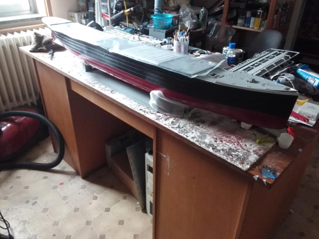 RMS Titanic / Trumpeter, 1:200 - als RC Version - Seite 2 Img_2449