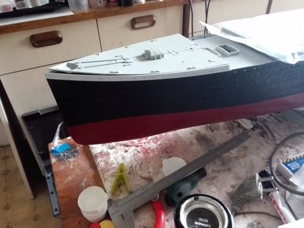 RMS Titanic / Trumpeter, 1:200 - als RC Version - Seite 2 Img_2450