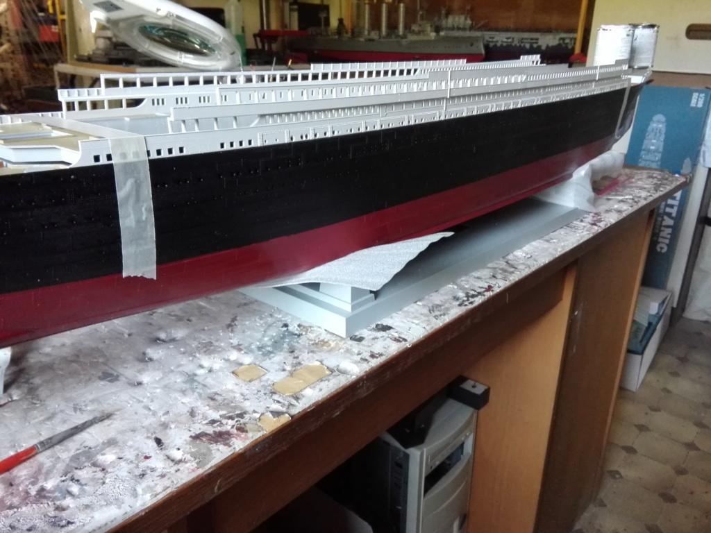 RMS Titanic / Trumpeter, 1:200 - als RC Version - Seite 2 Img_2457