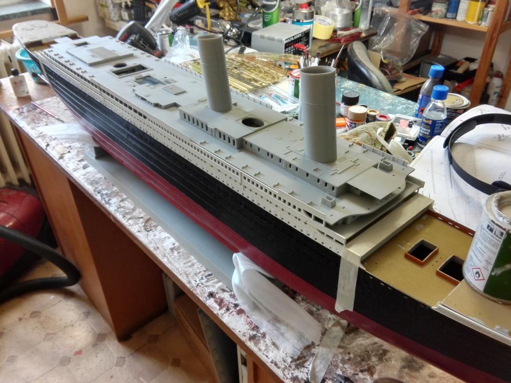 RMS Titanic / Trumpeter, 1:200 - als RC Version - Seite 2 Img_2461
