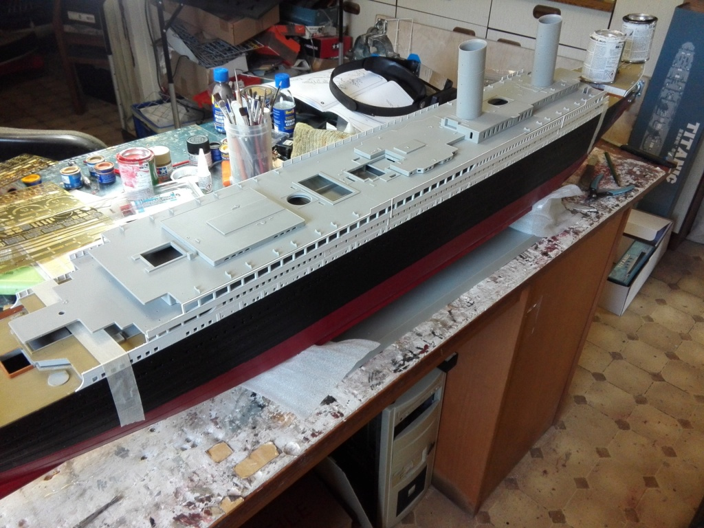 RMS Titanic / Trumpeter, 1:200 - als RC Version - Seite 2 Img_2462