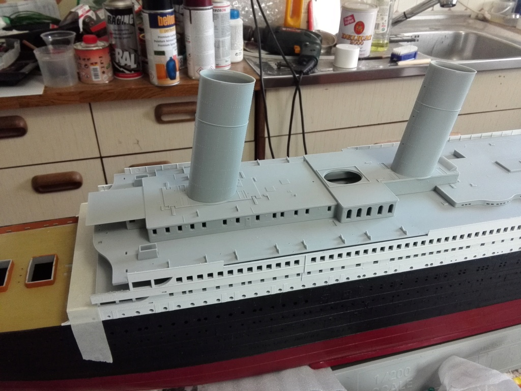 RMS Titanic / Trumpeter, 1:200 - als RC Version - Seite 2 Img_2463