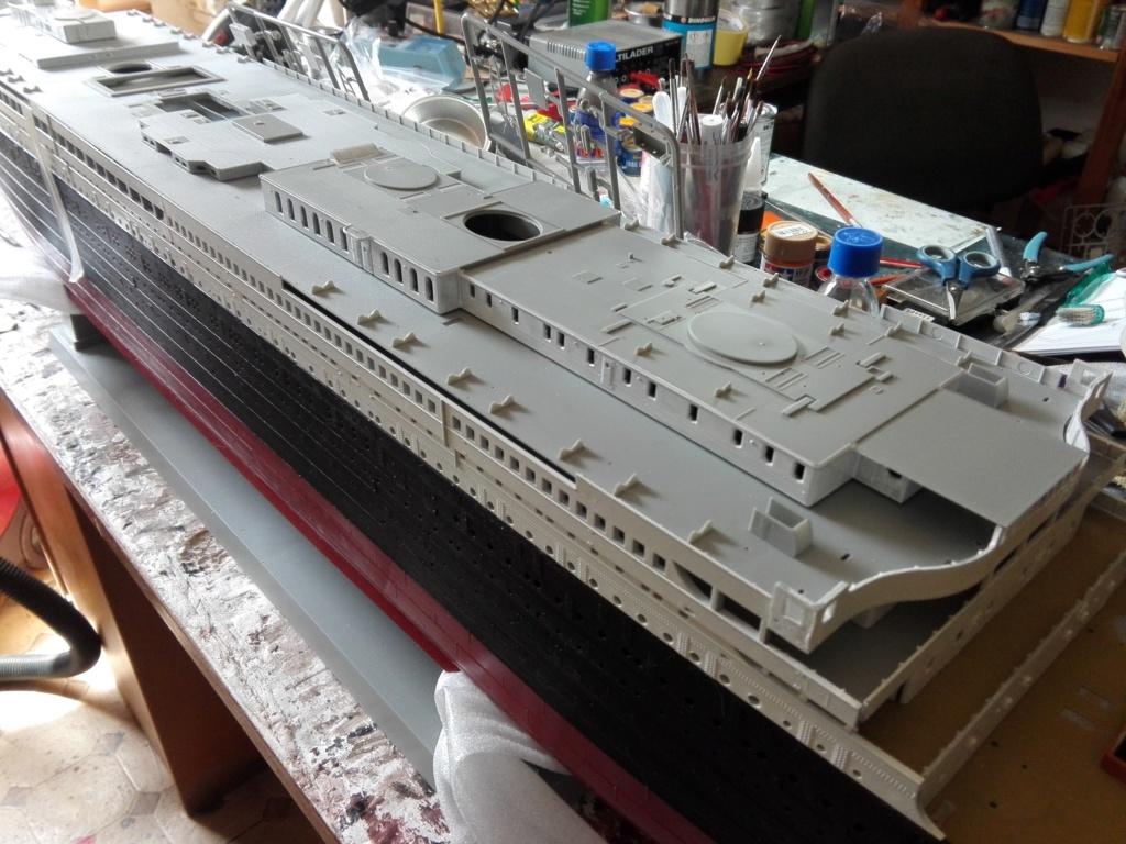 RMS Titanic / Trumpeter, 1:200 - als RC Version - Seite 2 Img_2466