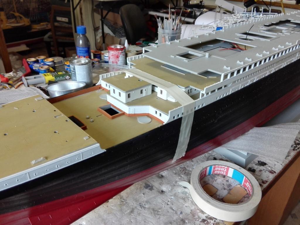 RMS Titanic / Trumpeter, 1:200 - als RC Version - Seite 2 Img_2473