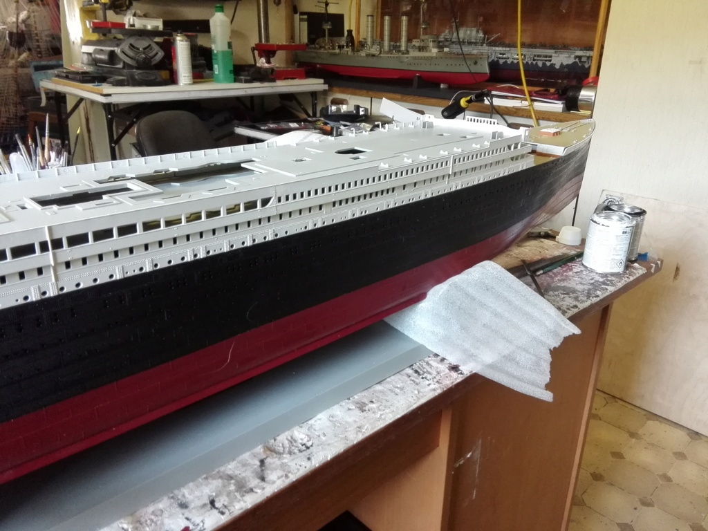 RMS Titanic / Trumpeter, 1:200 - als RC Version - Seite 2 Img_2474