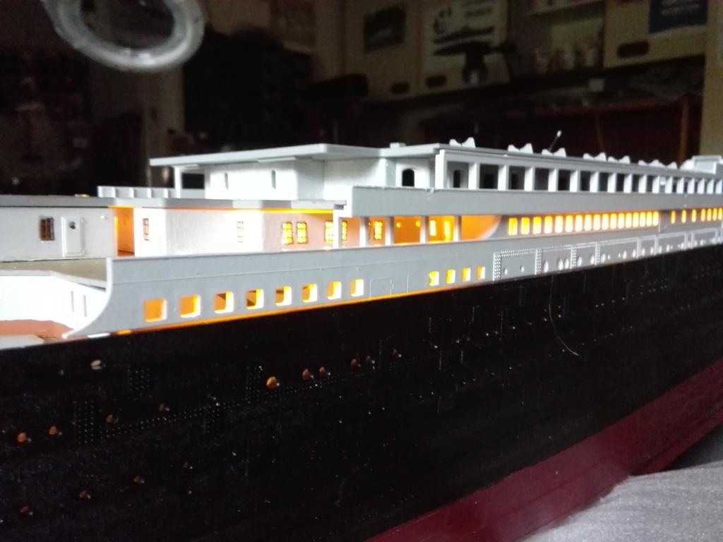 RMS Titanic / Trumpeter, 1:200 - als RC Version - Seite 2 Img_2476