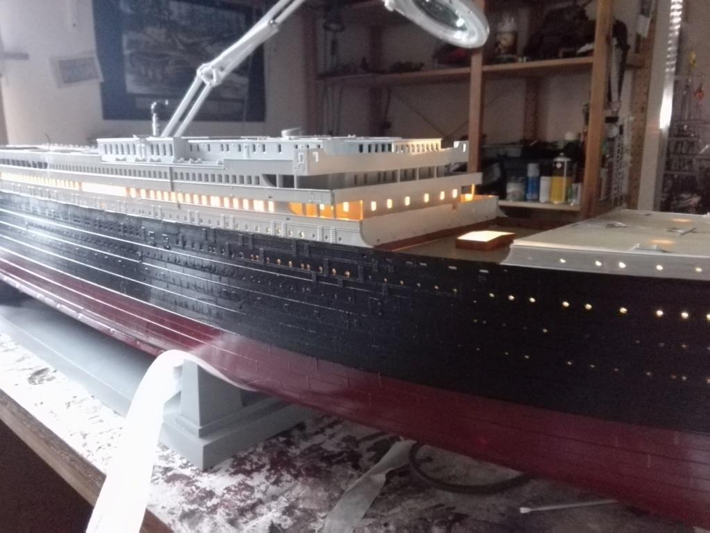 RMS Titanic / Trumpeter, 1:200 - als RC Version - Seite 2 Img_2477