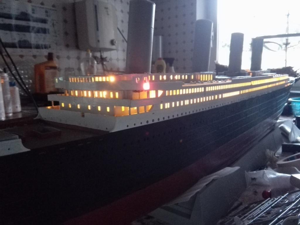 RMS Titanic / Trumpeter, 1:200 - als RC Version - Seite 2 Img_2490