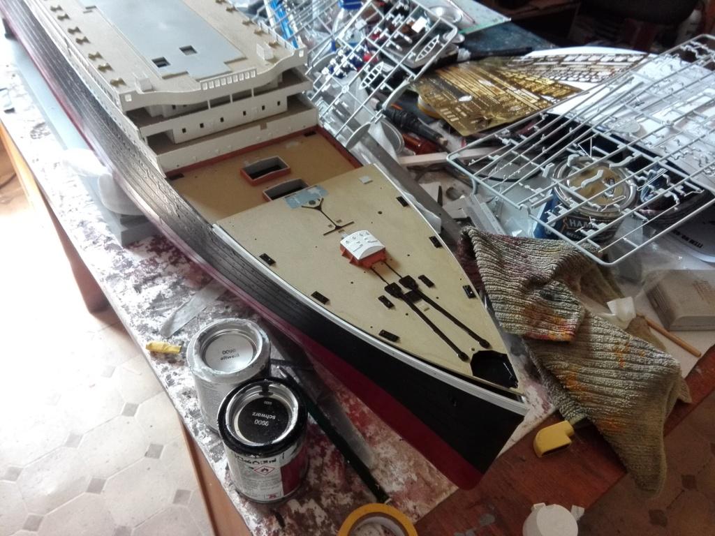 RMS Titanic / Trumpeter, 1:200 - als RC Version - Seite 2 Img_2493