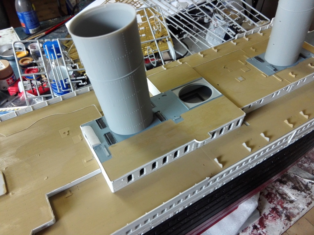 RMS Titanic / Trumpeter, 1:200 - als RC Version - Seite 2 Img_2496