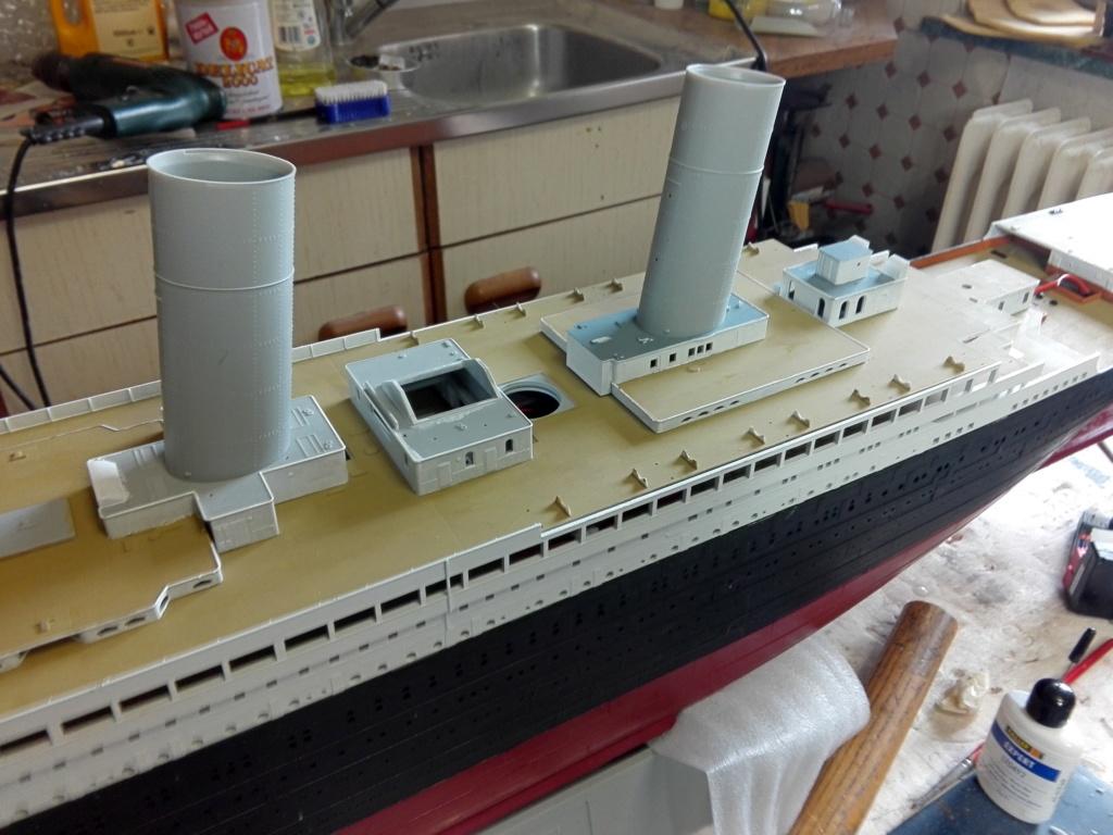 RMS Titanic / Trumpeter, 1:200 - als RC Version - Seite 2 Img_2498