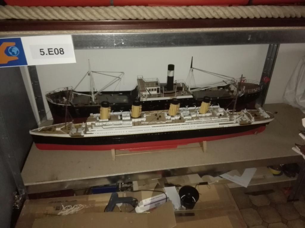 RMS Titanic / Trumpeter, 1:200 - als RC Version - Seite 2 Img_2511
