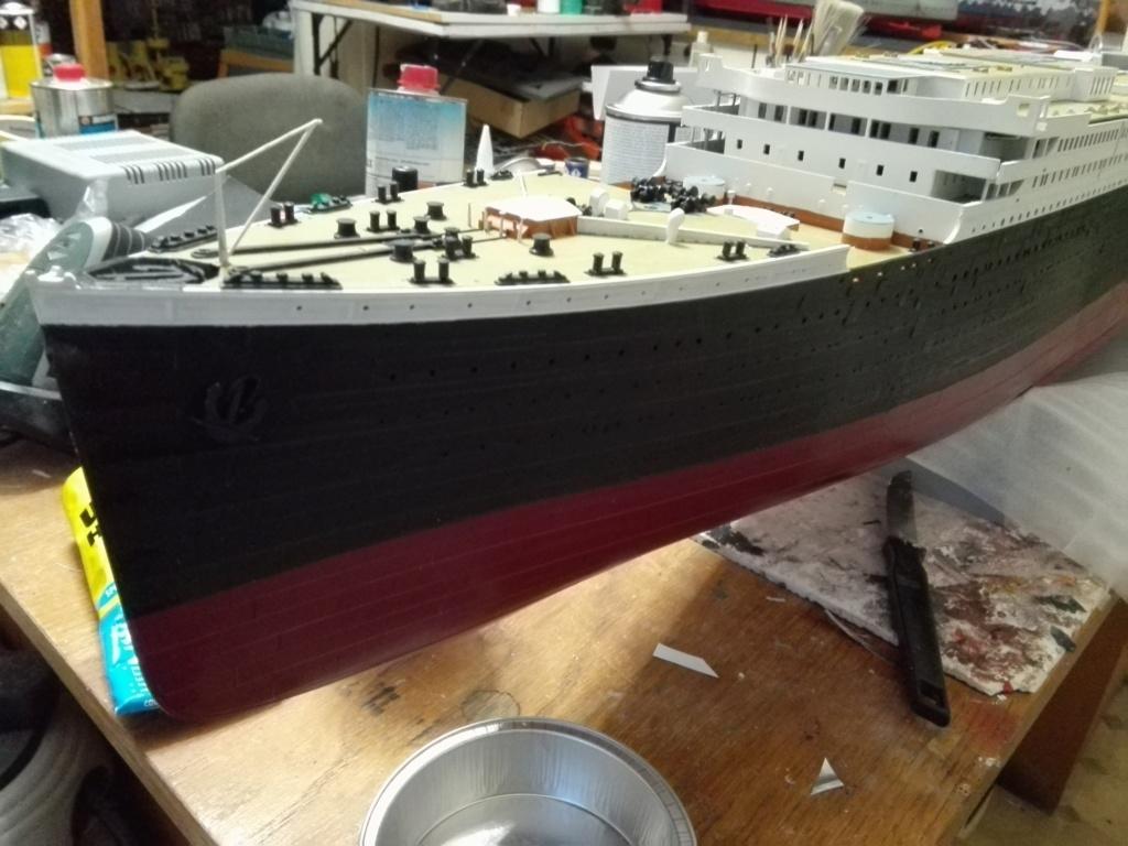 RMS Titanic / Trumpeter, 1:200 - als RC Version - Seite 3 Img_2512