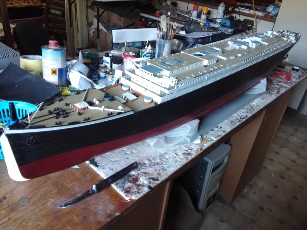 RMS Titanic / Trumpeter, 1:200 - als RC Version - Seite 3 Img_2522