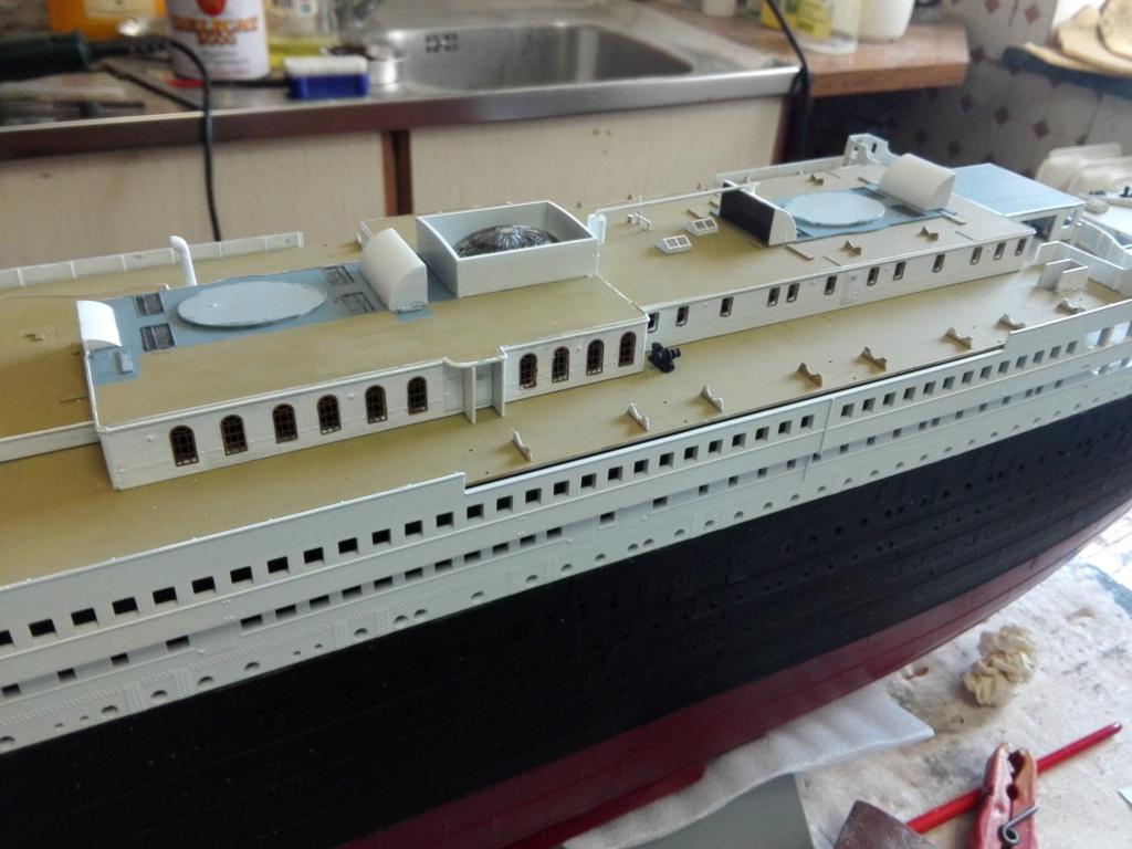 RMS Titanic / Trumpeter, 1:200 - als RC Version - Seite 3 Img_2526