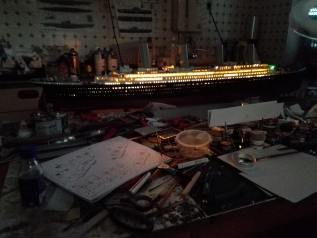 RMS Titanic / Trumpeter, 1:200 - als RC Version - Seite 3 Img_2535