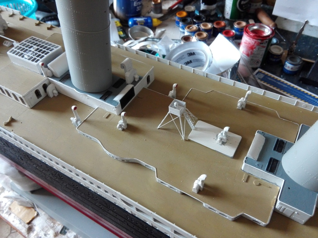 RMS Titanic / Trumpeter, 1:200 - als RC Version - Seite 3 Img_2539