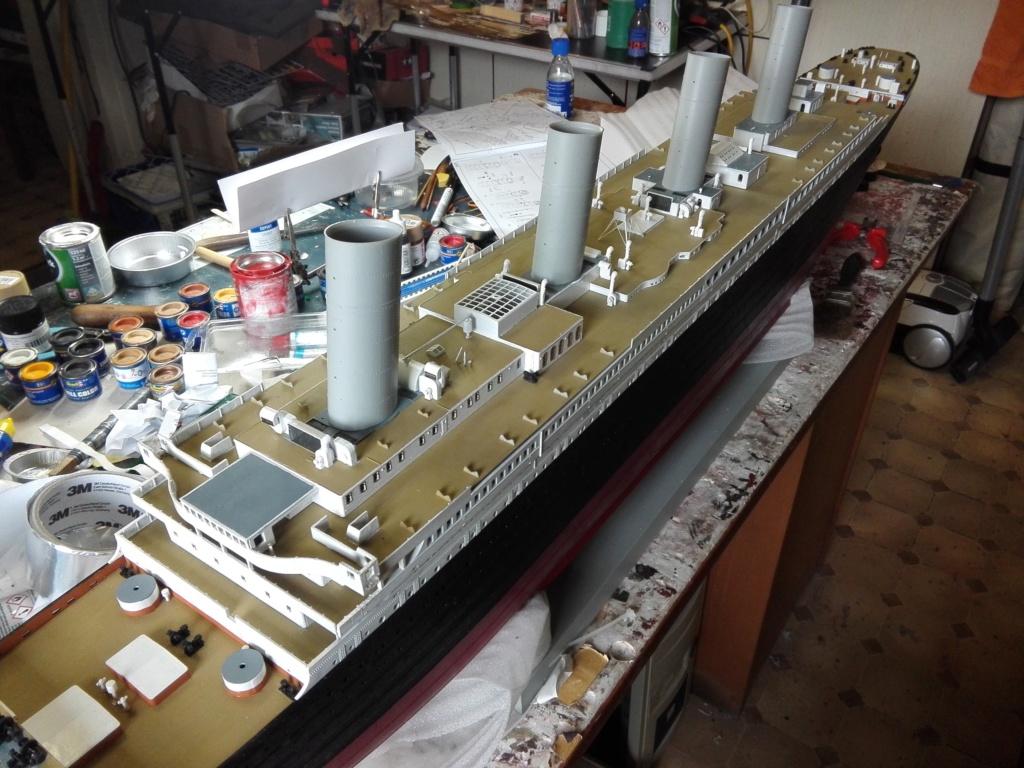 RMS Titanic / Trumpeter, 1:200 - als RC Version - Seite 3 Img_2546